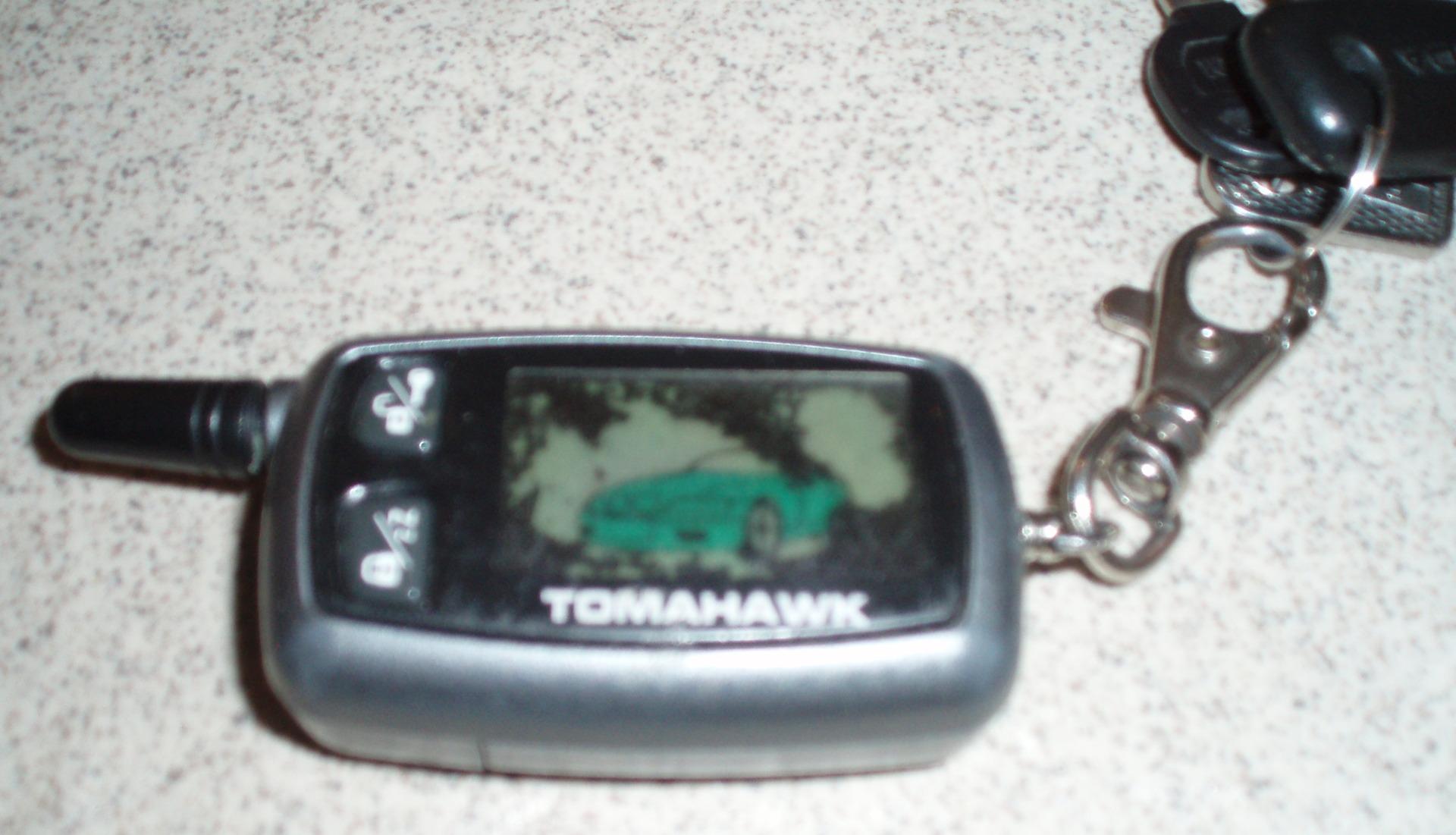Инструкция Сигнализация Tomahawk Tw 7010
