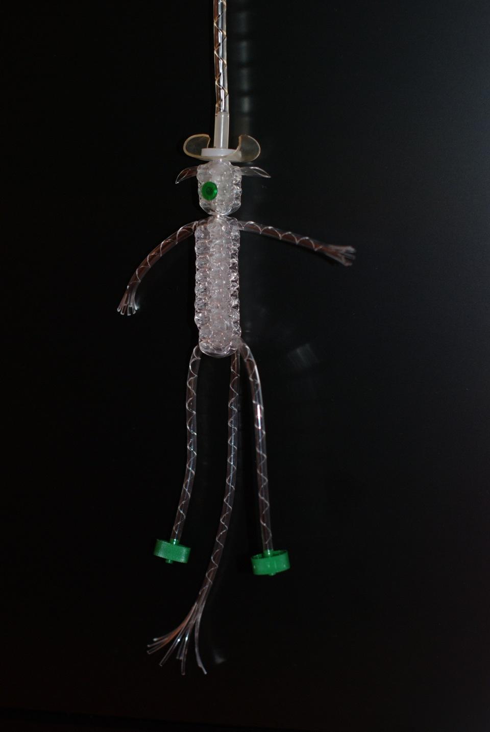 Плетение из капельницы