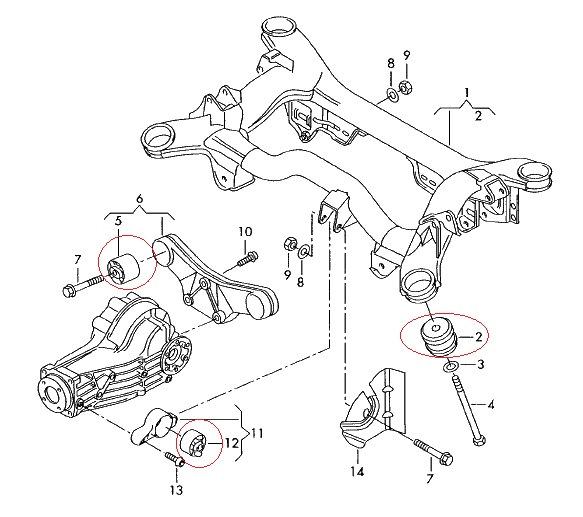 Repair Of Rear Suspension Audi A6 C5 Quattro Part 1