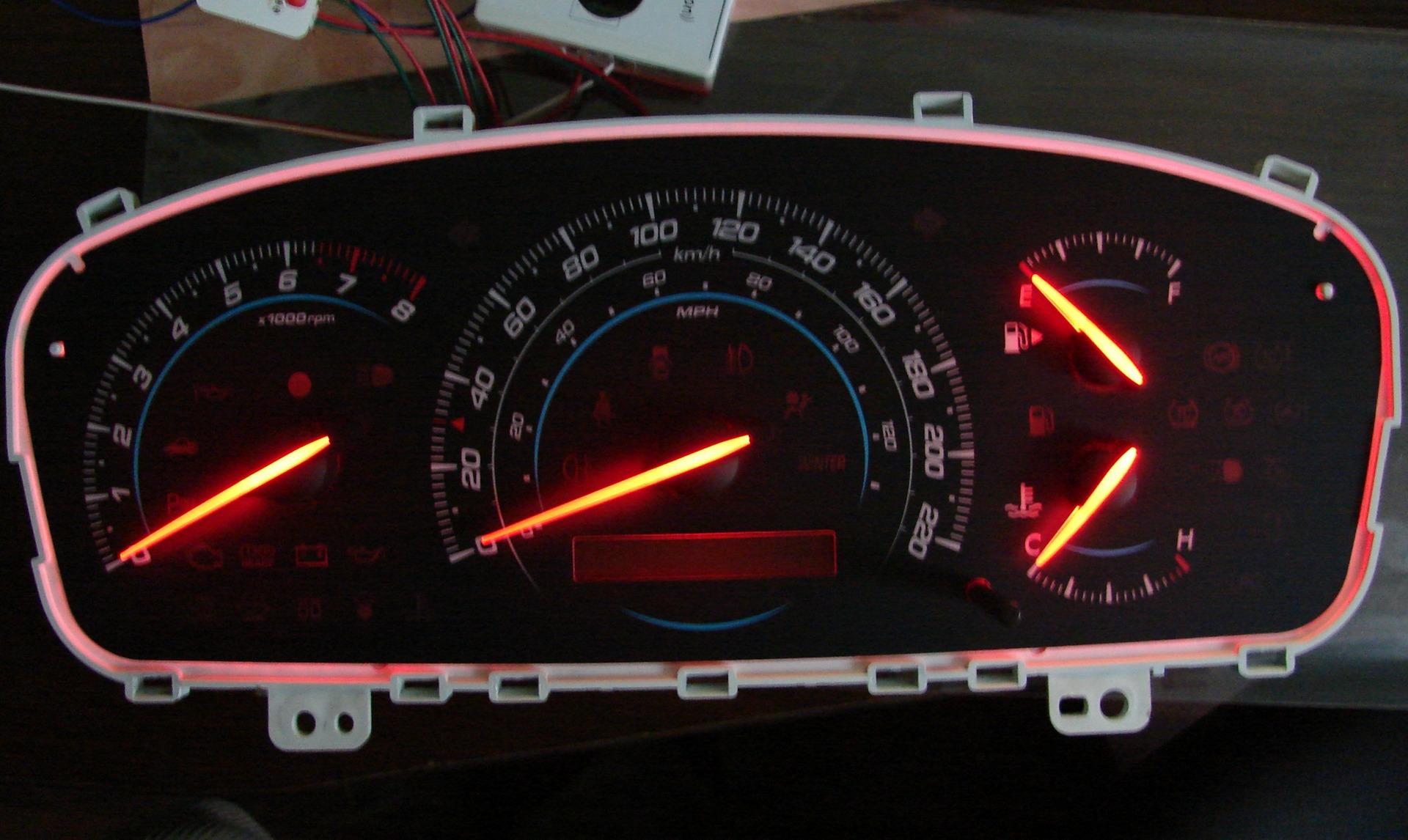 Оптитронная панель приборов своими руками фото 497