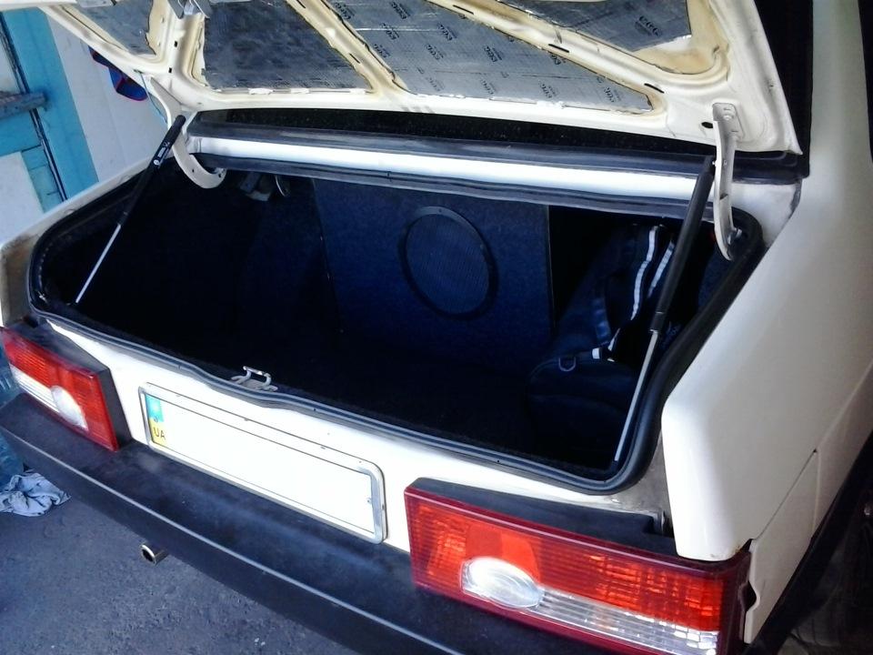 Багажник ваз 21099 своими руками 44