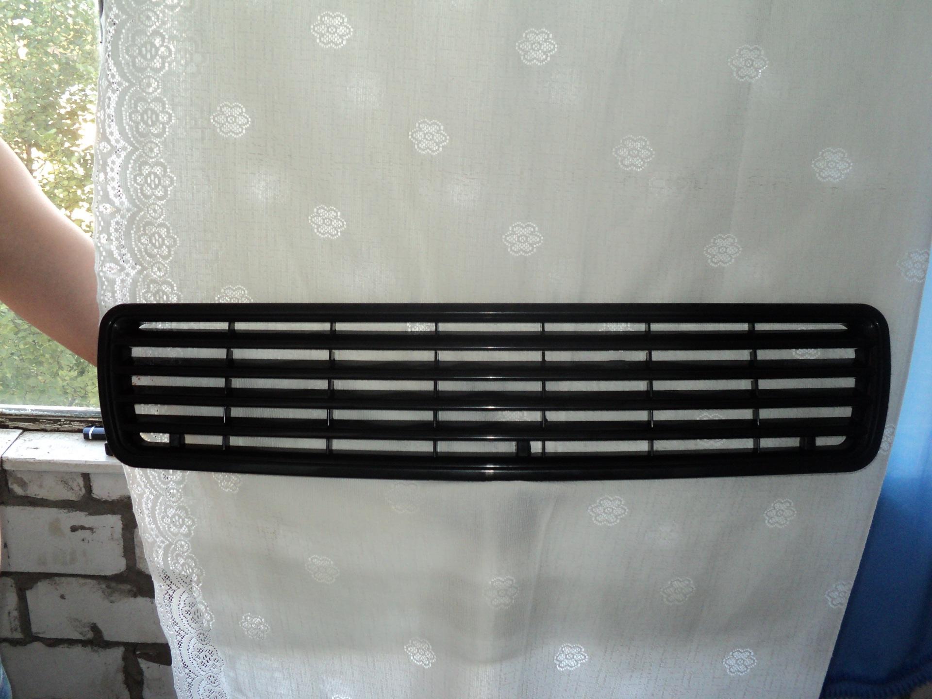 Как сделать решетку радиатора ауди