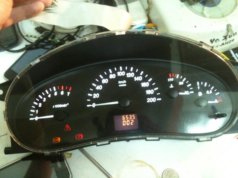 Фото №22 - панель приборов ВАЗ 2110 тюнинг
