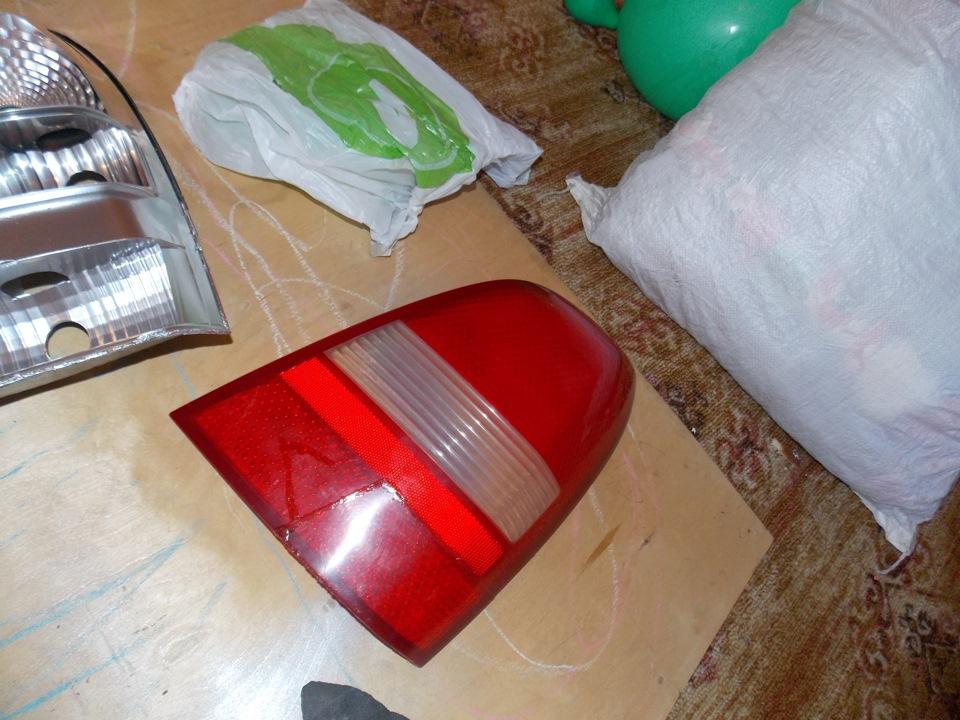 Ремонт задних фонарей автомобиля 71