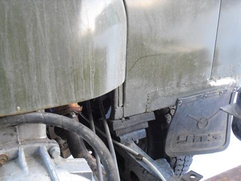 Замена кабины уаз 3303