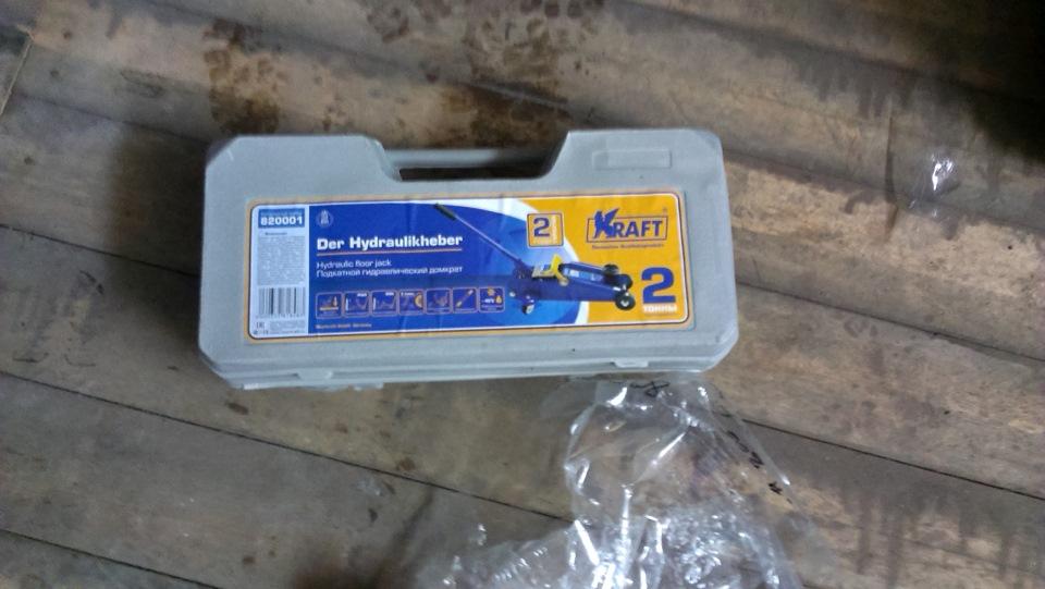 Домкрат Kraft 2t 820001 - фото 9