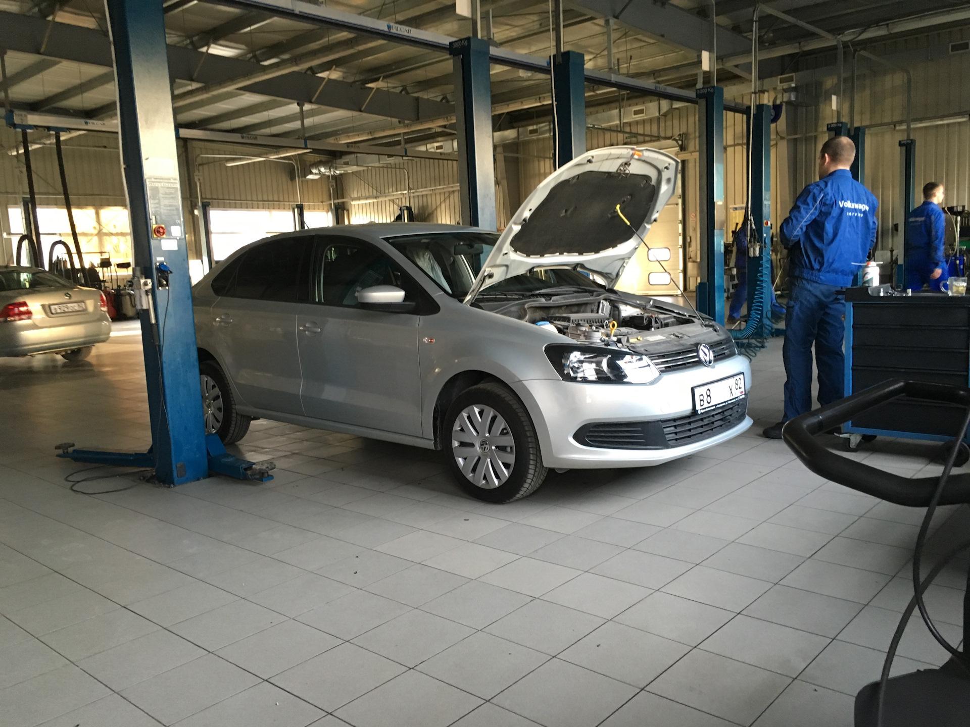 обкатка авто фольксваген поло седан