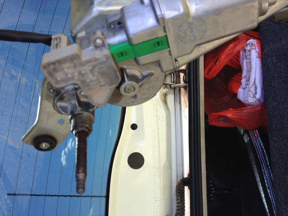 задние дворники nissan note с мотором