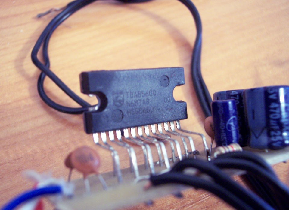 Усилитель TDA8560Q