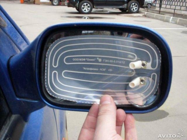 Установка подогрев зеркал своими руками