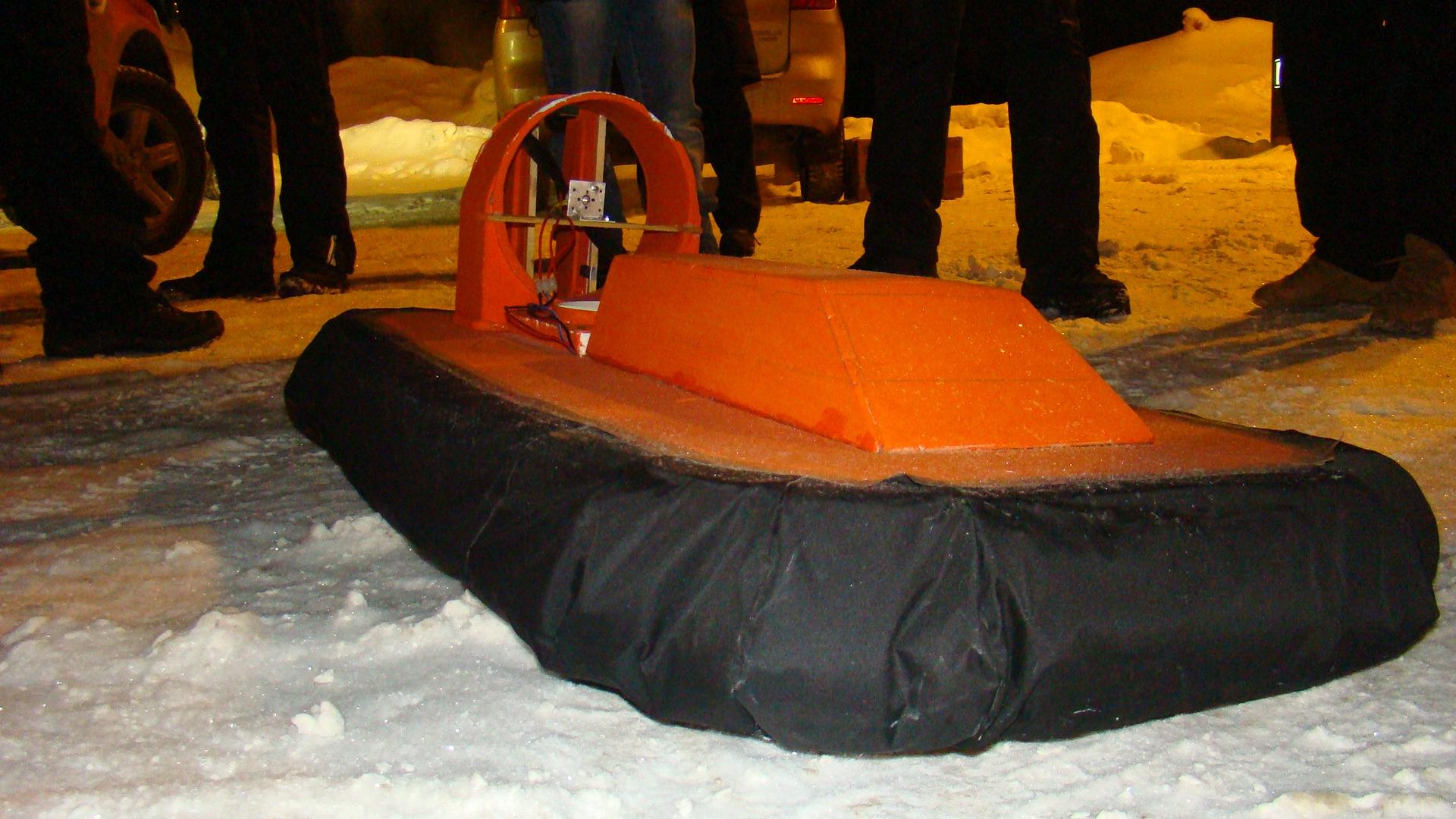 Как сделать катер на воздушной подушке своими руками