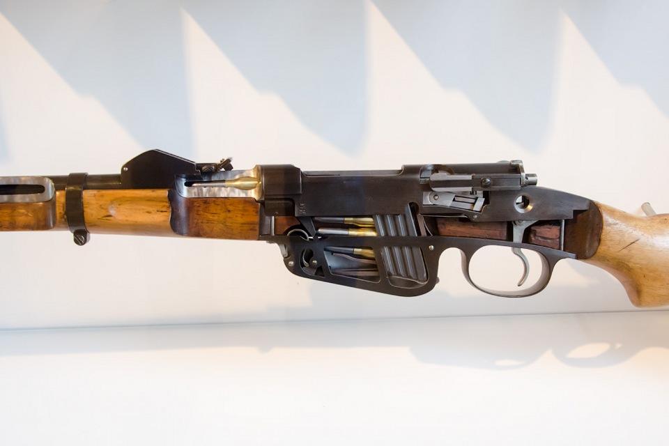 быструю винтовку на пороге