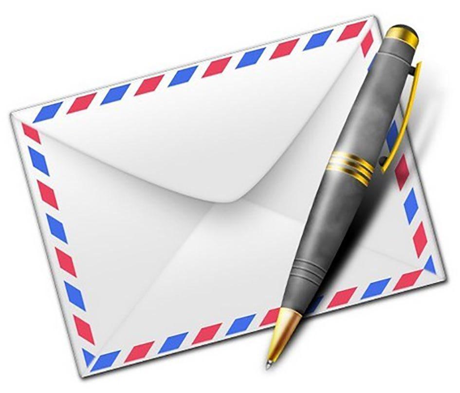 Письмо написанное картинками