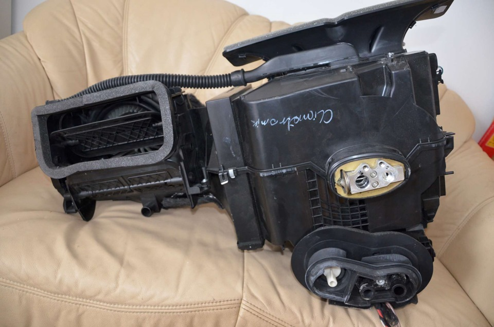 установка кондиционера в фольксваген поло седан