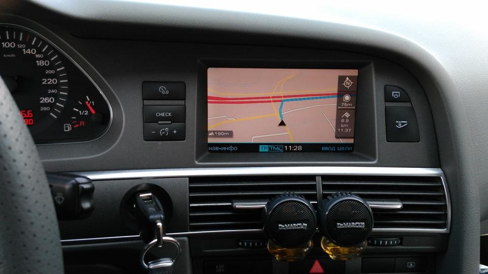 Карты навигации Europe 2018 для MMI 2G — Audi A6, 3 0 л , 2005 года