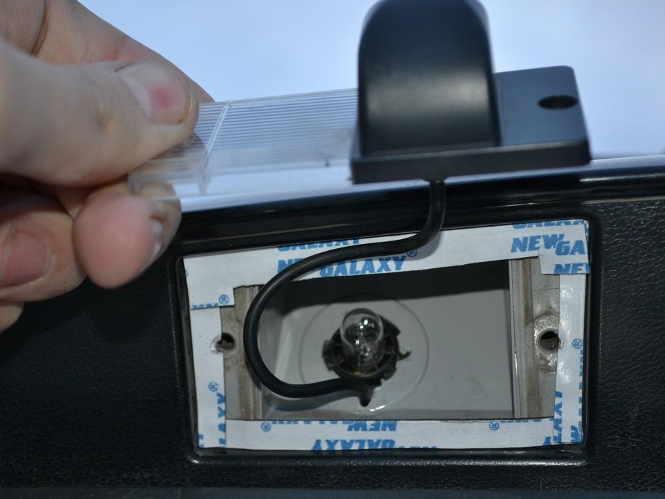 Установка камеры заднего вида на киа соренто