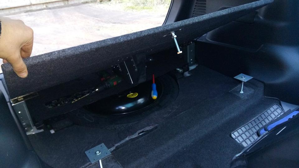 Сабвуфер под сиденье автомобиля своими руками