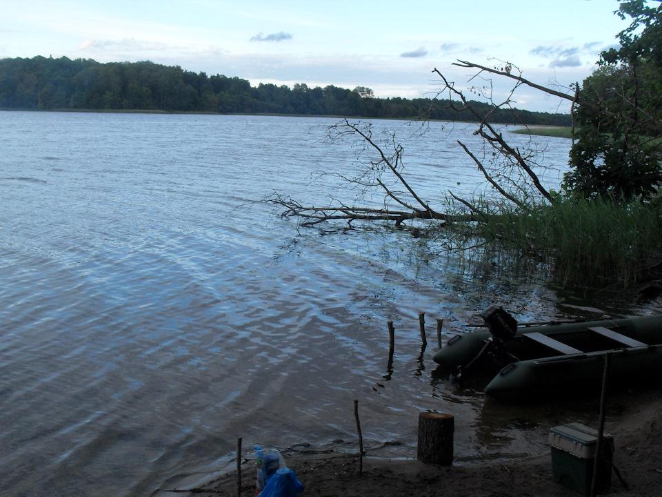 Рыбалка на озере усмынское