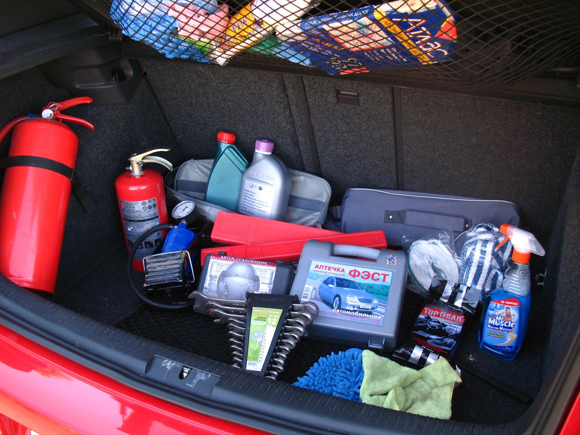 Аптечка в машину