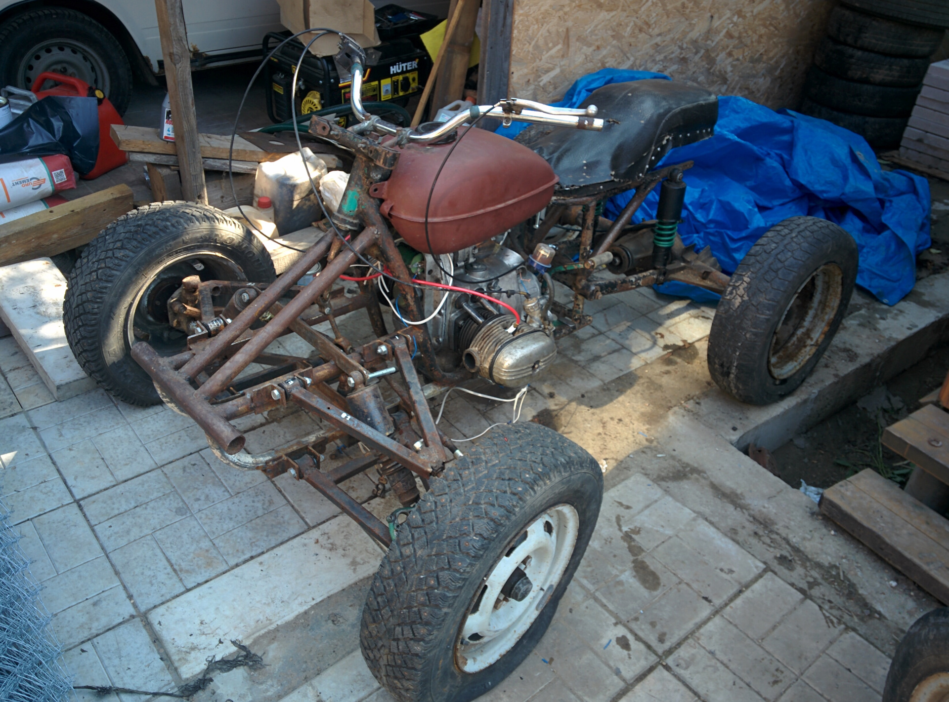 рынке фото переделанный мотоцикл урал под квадроцикл картинки тегом