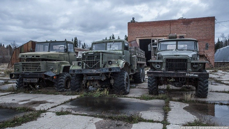 заброшенные воинские части россии фото