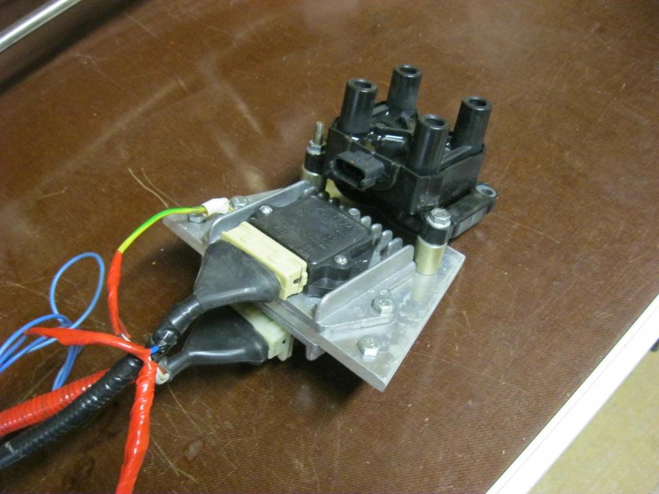 Как сделать модуль зажигания 108