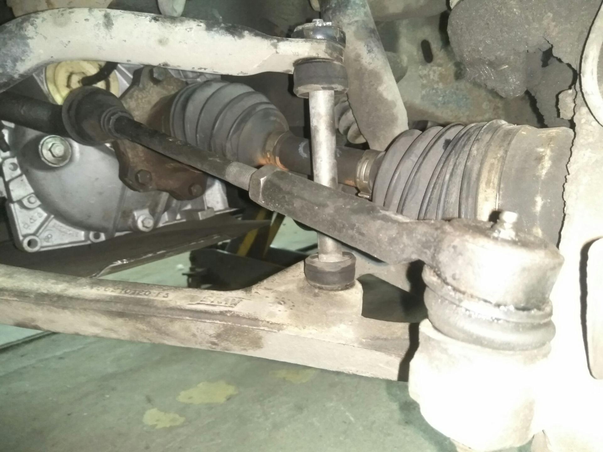 Замена рулевой тяги кадиллак Ремонт багажника pajero