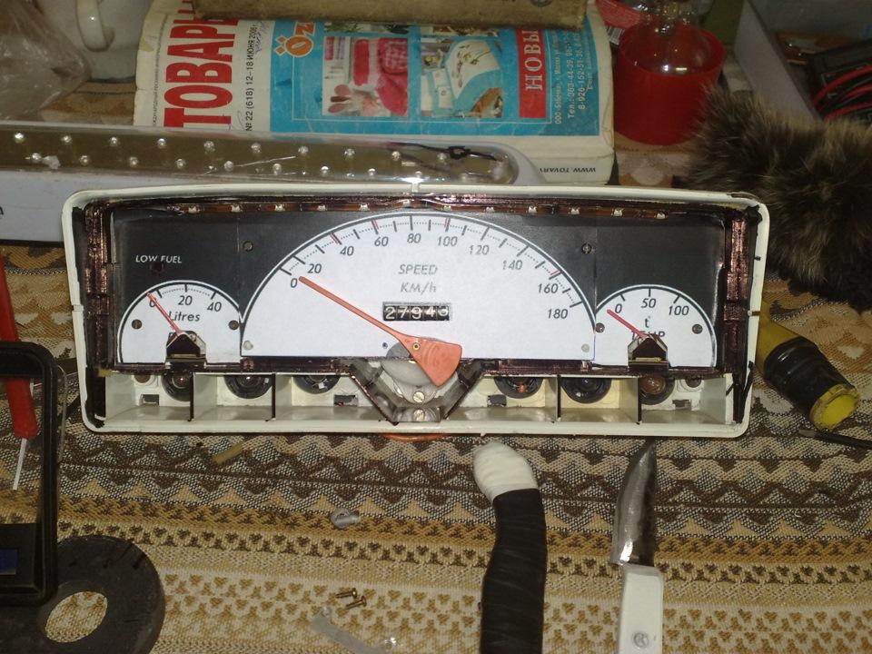 Панель приборов ваз 2101 тюнинг своими руками