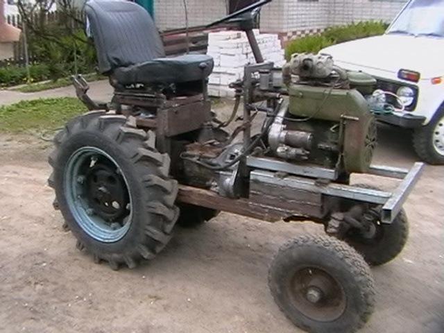 Собираем мини-трактор своими руками: советы начинающему.