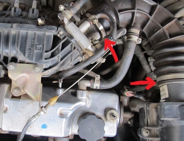 Фото №22 - чистка дроссельной заслонки ВАЗ 2110 16 клапанов