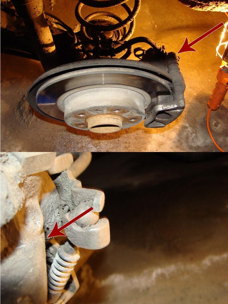 Как поменять тормозные колодки на опель зафира