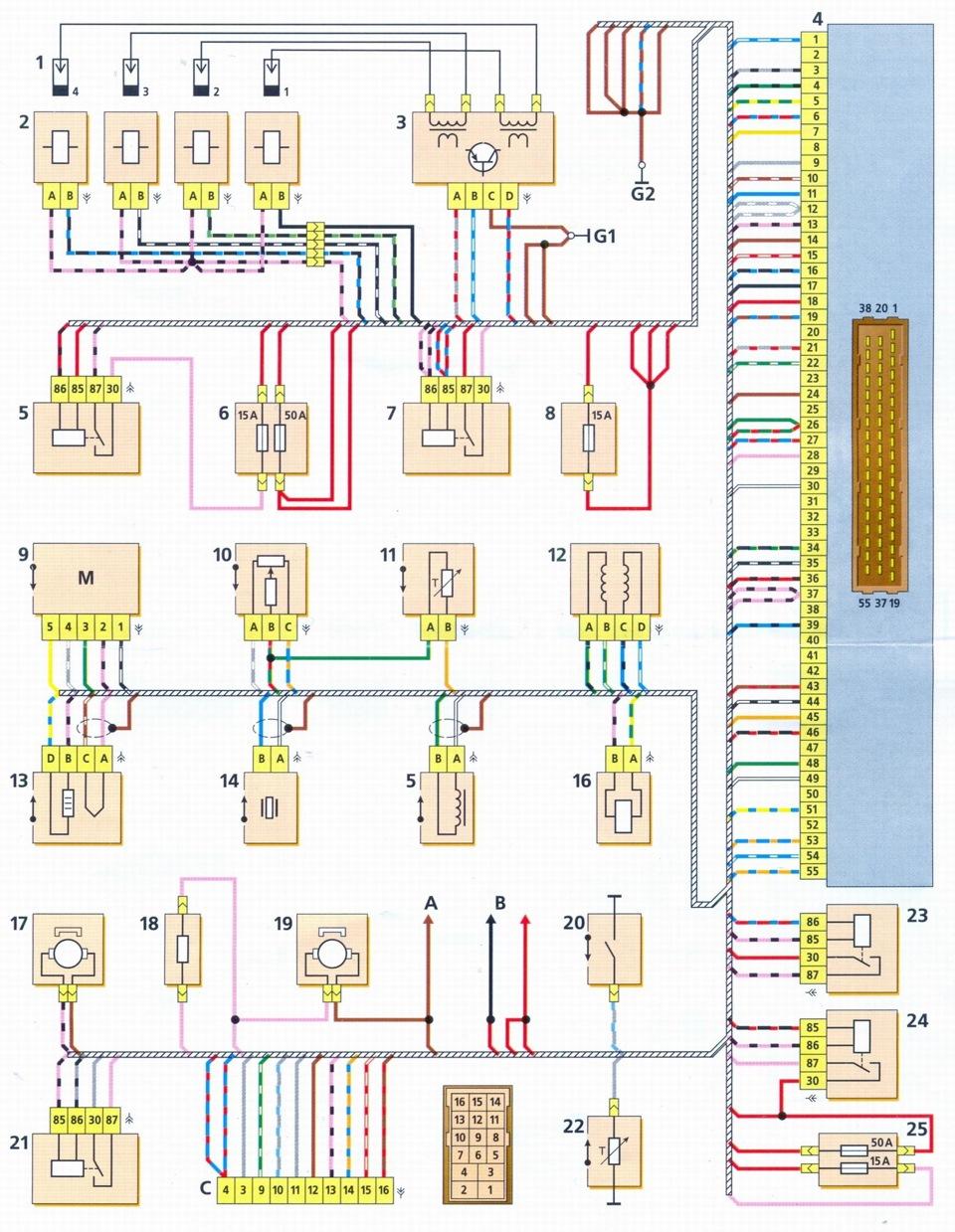 3c1f73cs 960 - Шеви нива электрическая схема