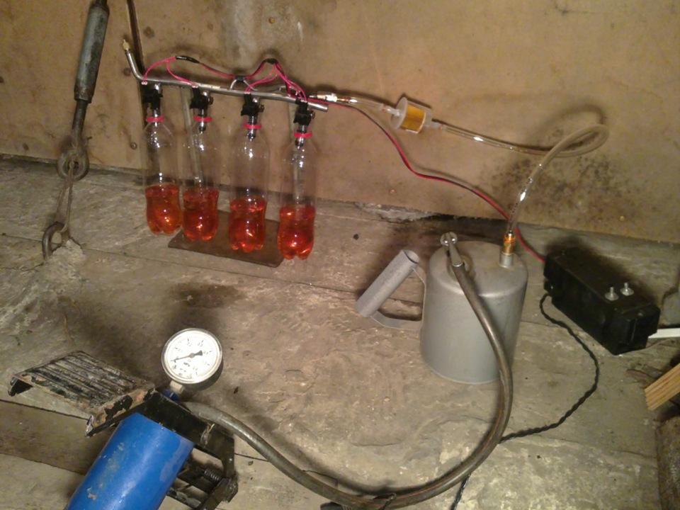 Промывка инжектора и форсунок  ваз 2114 72