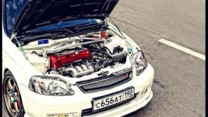 самый мощный двигатель на honda civic ek