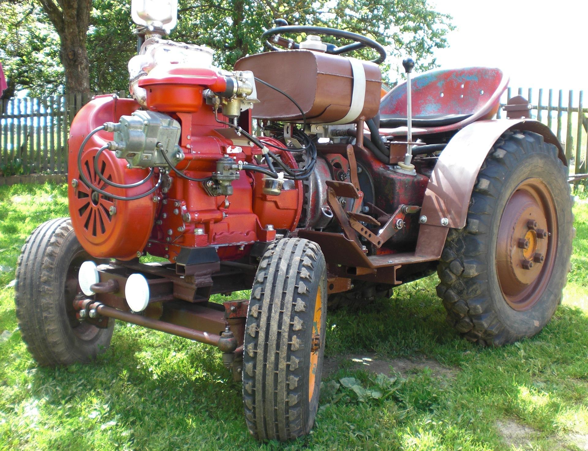 Самоделки для трактора своими руками