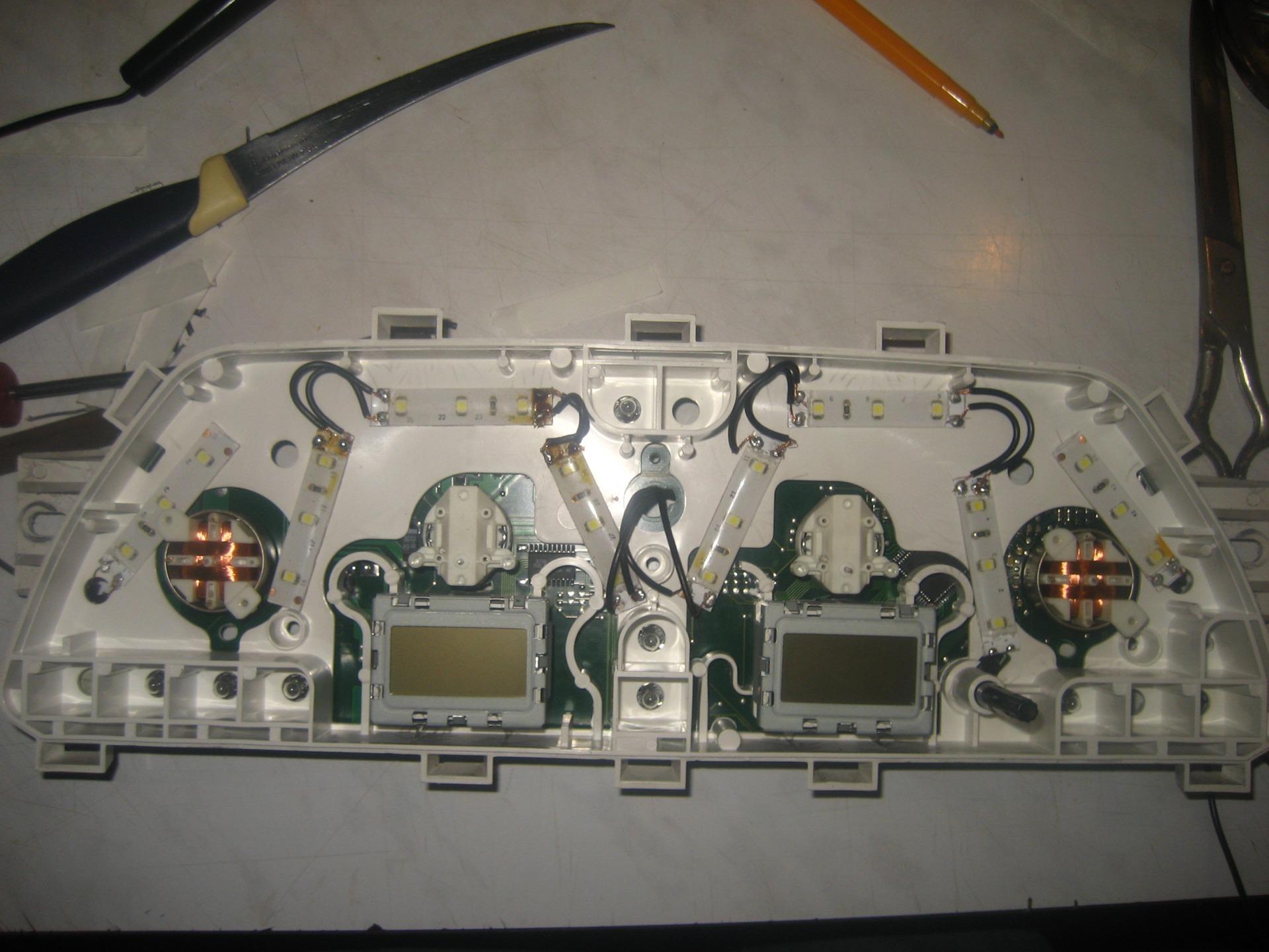 Подсветка приборной панели на ВАЗ 2114 (часть первая) .