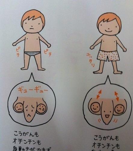 японские писюны: