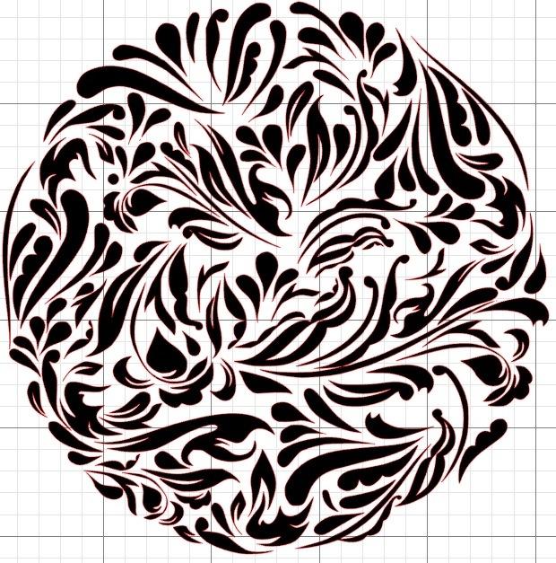 Как сделать черно белое контрастное