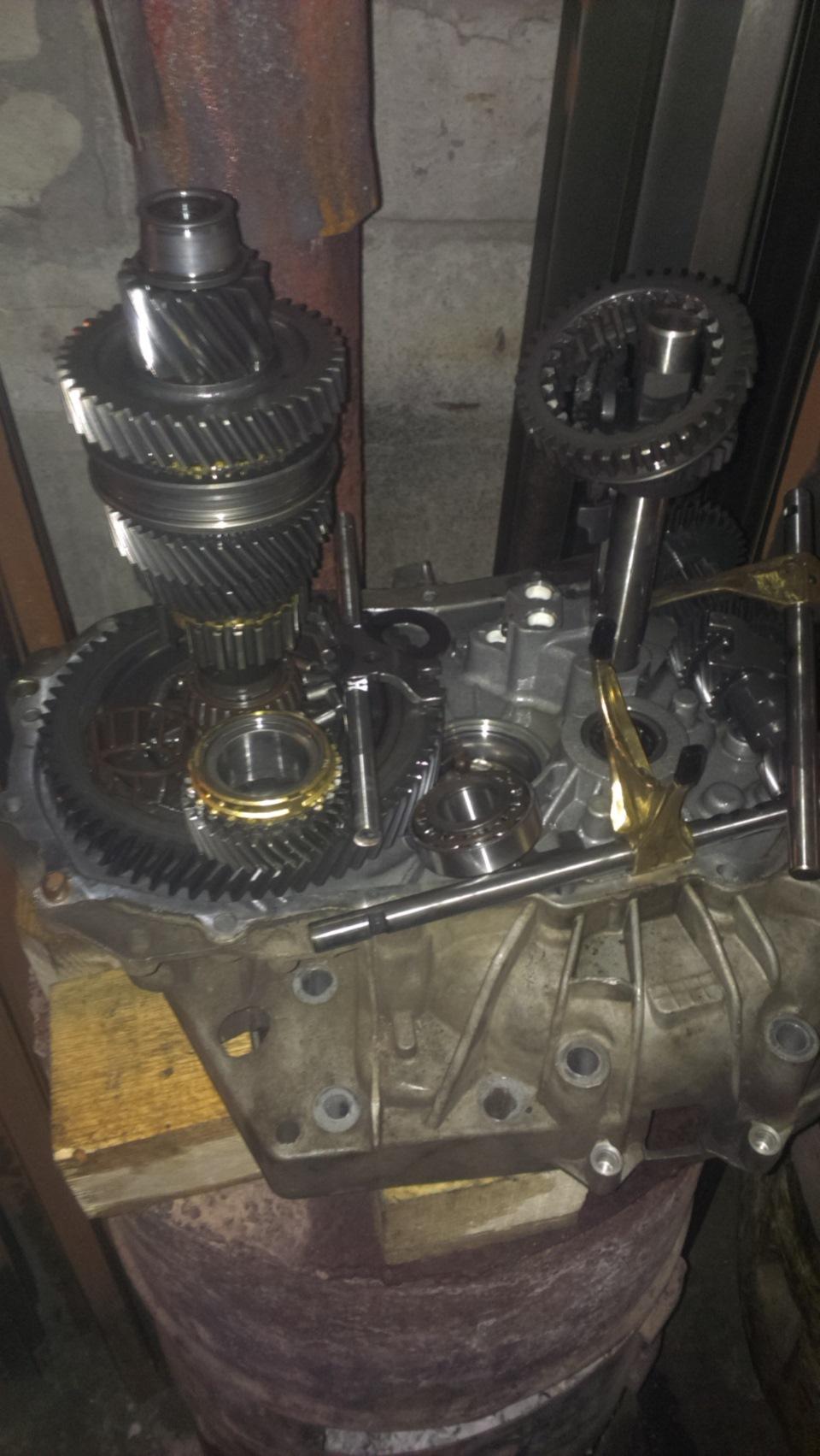 Ремонт коробки передач на рено логан