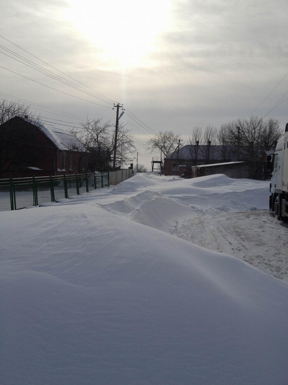 Зима в Ростовской области осмотр авто в гараже Logbook