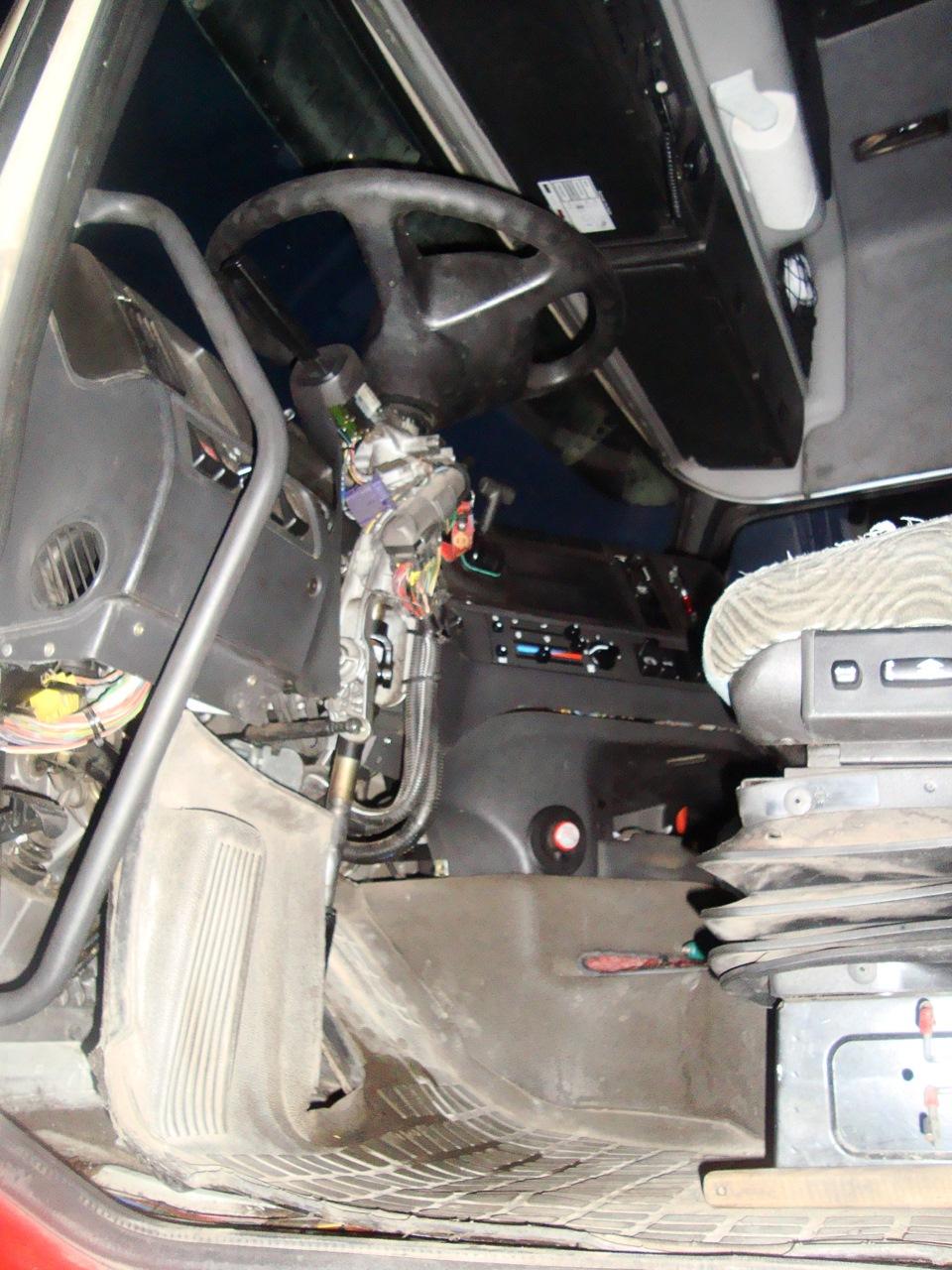 устройство рулевого управление volvo f 12