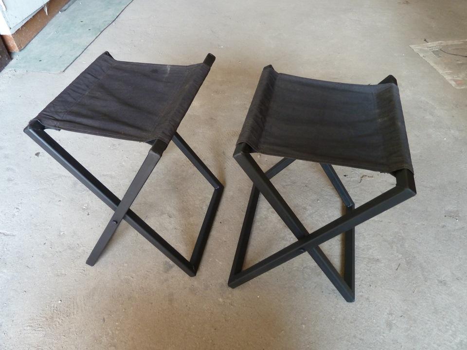 Складные стулья из металла своими руками 42