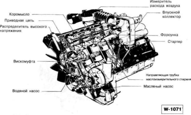 BMW e39 m54 датчик положения коленвала