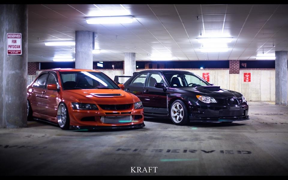 subaru wrx sti vs mitsubishi evolution Mitsubishi evo ix mr vs subaru impreza wrx sti: (sti) and yokohama advan a046s (evo) mainly because subaru and mitsubishi.