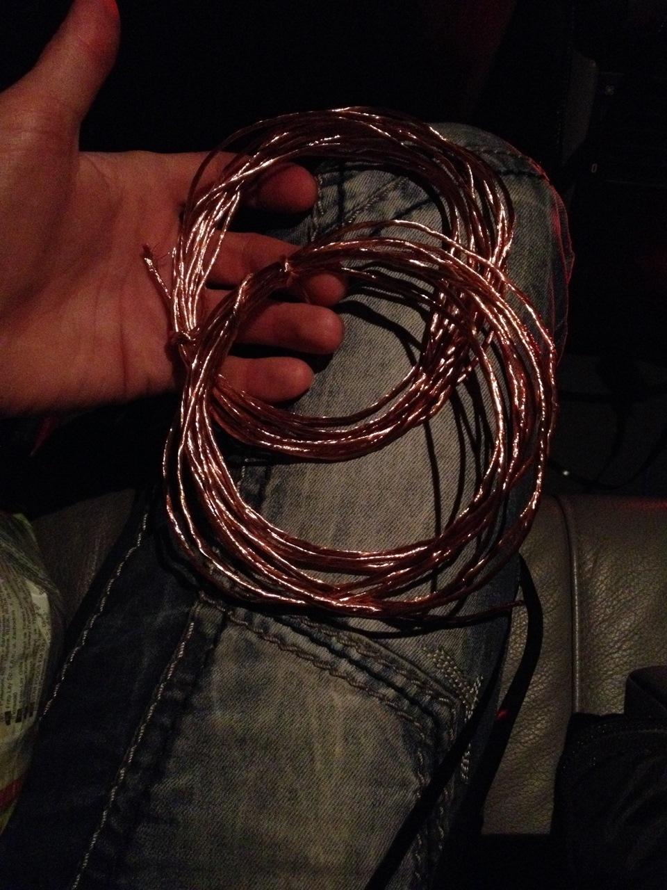Акустические провода. своими руками 342