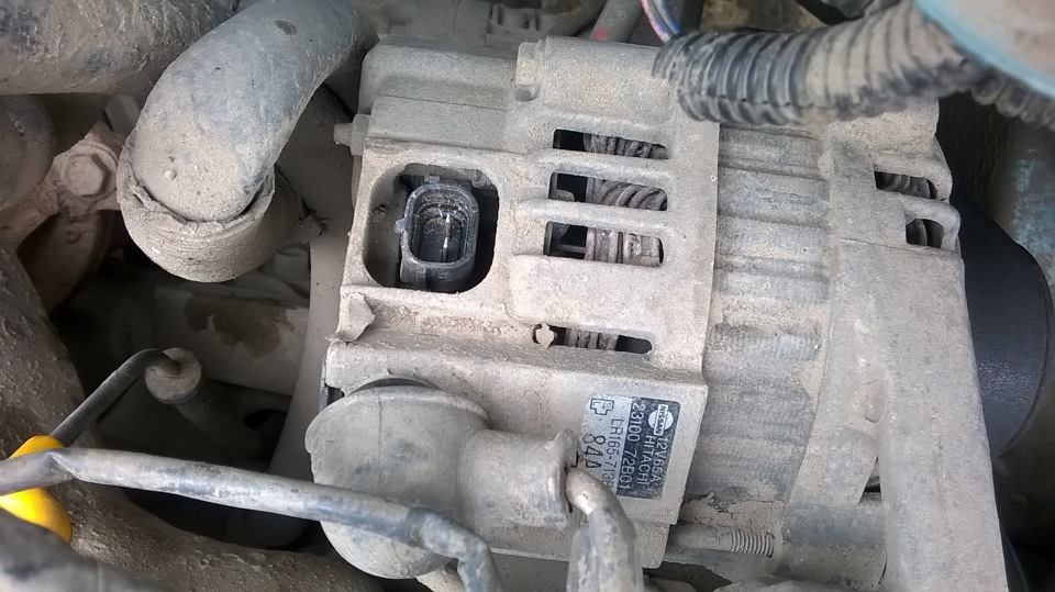 nissan march генератор