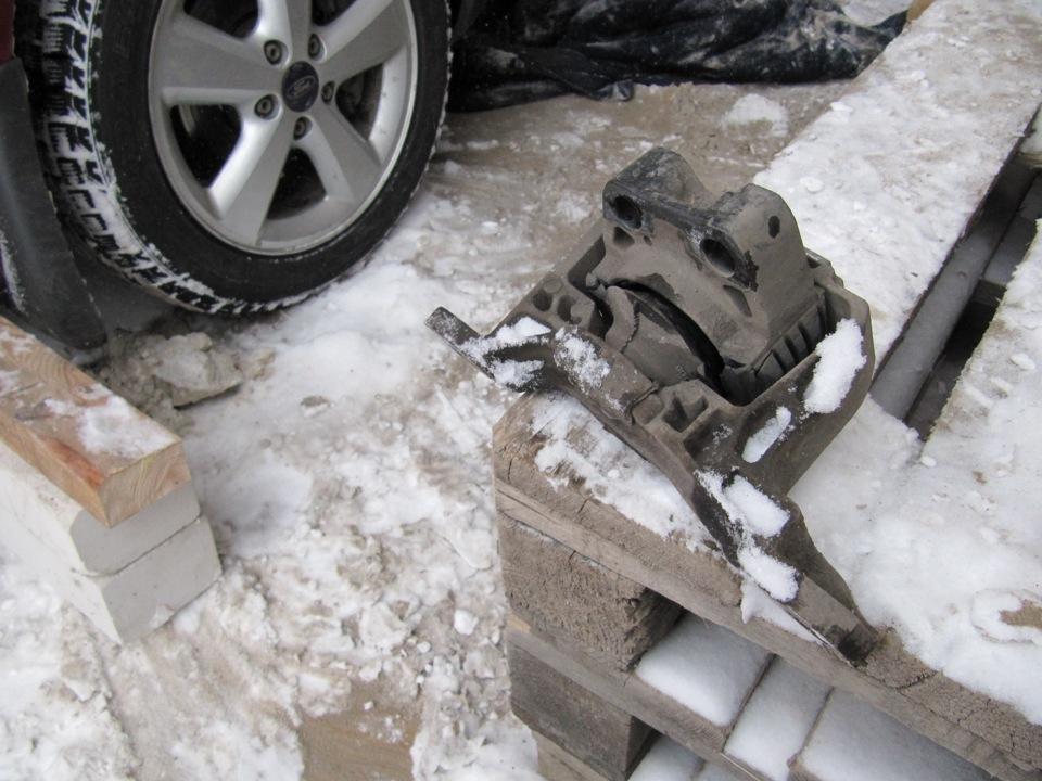 Замена подушек двигателя форд фокус 2