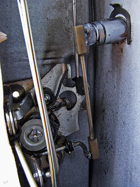 механизм замка от ВАЗ-2109