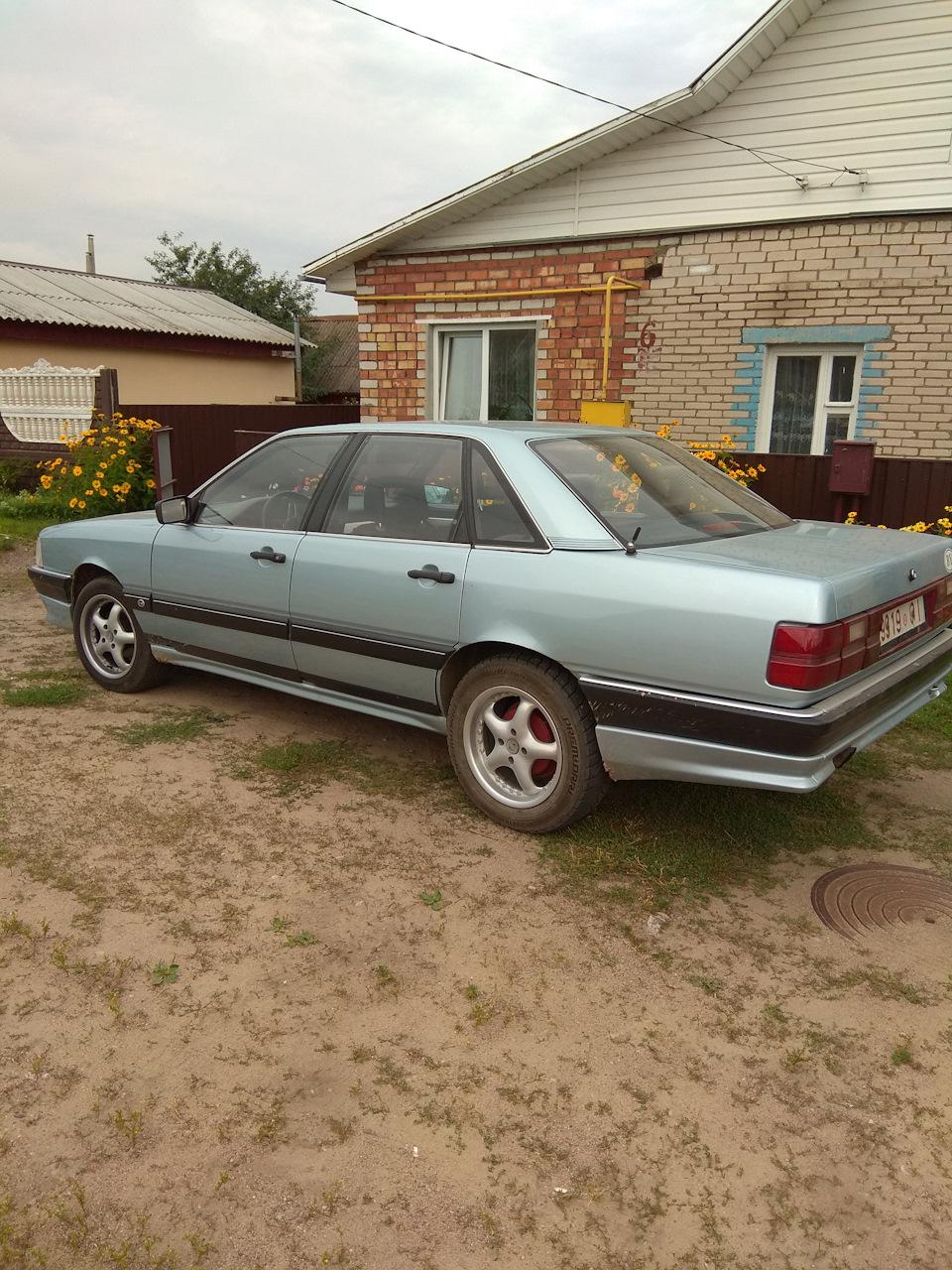 Новый вид.просто фото — бортжурнал Audi 100 1985 года на ...