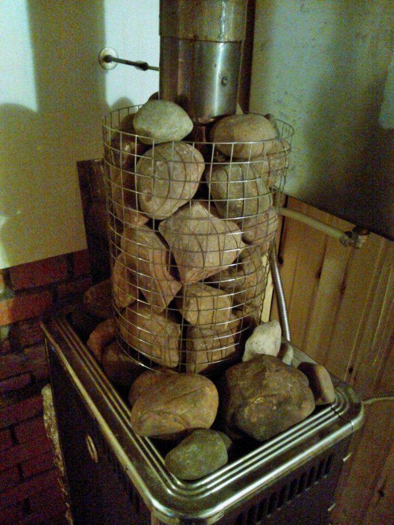 Сетка для камней для бани своими руками фото 485